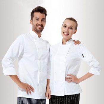 G6-354  Chef's Uniforms  in White