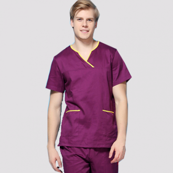 G9-413 pure 100% cotton medical scrubs