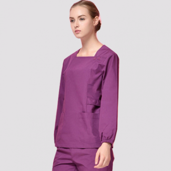 G9-415 square neck medical scrubs
