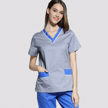G9-503 fashional high quality scrubs  two tones  design