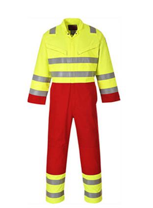 Modacrylic fire retardant overalls  0736