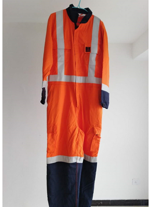 Aramid IIIA,  permanent flame retardant coveralls,  Nomex permanent flame retardant antistatic waterproof overall  0737