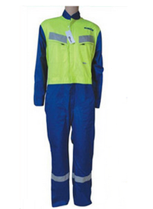 Exported to North America NFPA2112 joint flame retardant overalls, Fire standard protective clothing 0739