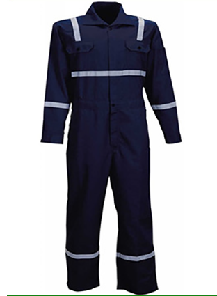 Flame-retardant fireproof, high temperature resistant, wear-resistant EN532 certified electric welding field special welding protective overall 0740