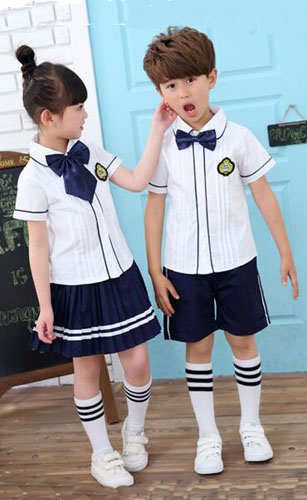 G8-116  school shirt ,  school short pant